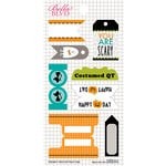 Bella Blvd - Trick or Treat Collection - Halloween - Cardstock Stickers - Tabs