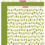 Bella Blvd - Christmas Countdown Collection - 12 x 12 Double Sided Paper - O Tannenbaum