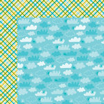 Bella Blvd - Summer Squeeze Collection - 12 x 12 Double Sided Paper - Summer Breeze