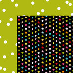 Bella Blvd - Scattered Sprinkles Collection - 12 x 12 Double Sided Paper - Pickle Juice Sprinkles