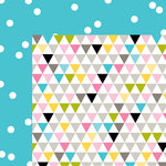 Bella Blvd - Scattered Sprinkles Collection - 12 x 12 Double Sided Paper - Ice Sprinkles