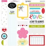 Bella Blvd - Scattered Sprinkles Collection - 12 x 12 Cardstock Stickers - Just Write