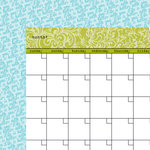 Bella Blvd - Classic Calendars Collection - 12 x 12 Double Sided Paper - Pickle Juice Calendar