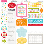 Bella Blvd - Classic Calendars Collection - 12 x 12 Cardstock Stickers - Just Write