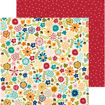 Bella Blvd - Hello Autumn Collection - 12 x 12 Double Sided Paper - Autumn Floral
