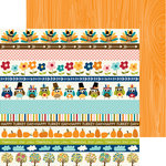 Bella Blvd - Hello Autumn Collection - 12 x 12 Double Sided Paper - Borders