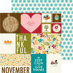 Bella Blvd - Hello Autumn Collection - 12 x 12 Double Sided Paper - Daily Details