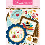 Bella Blvd - Hello Autumn Collection - Paper Pieces - Die Cut Cardstock Pieces