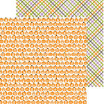 Bella Blvd - Halloween Magic Collection - 12 x 12 Double Sided Paper - Pumpkin Parade