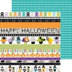 Bella Blvd - Halloween Magic Collection - 12 x 12 Double Sided Paper - Borders