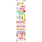Bella Blvd - Christmas Cheer Collection - Cardstock Stickers - Trinkets