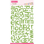 Bella Blvd - Amorie Alpha Collection - Ciao Chip - Self Adhesive Chipboard - Guacamole