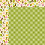Bella Blvd - Simply Spring Collection - 12 x 12 Double Sided Paper - Gingham