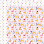 Bella Blvd - Simply Spring Collection - 12 x 12 Double Sided Paper - Hippity Hop
