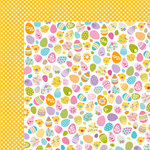 Bella Blvd - Simply Spring Collection - 12 x 12 Double Sided Paper - Eggstravaganza