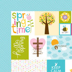 Bella Blvd - Simply Spring Collection - 12 x 12 Double Sided Paper - Daily Details
