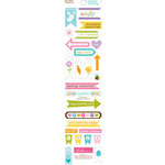 Bella Blvd - Simply Spring Collection - Cardstock Stickers - Trinkets