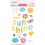 Bella Blvd - Simply Spring Collection - Ciao Chip - Self Adhesive Chipboard - Icons