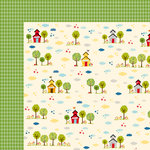 Bella Blvd - Star Student Collection - 12 x 12 Double Sided Paper - Schoolyard