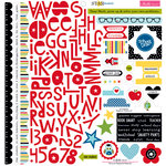 Bella Blvd - Star Student Collection - 12 x 12 Cardstock Stickers - Treasures and Text