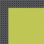 Bella Blvd - Color Chaos Collection - 12 x 12 Double Sided Paper - Pickle Juice Strandz