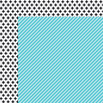 Bella Blvd - Color Chaos Collection - 12 x 12 Double Sided Paper - Ice Strandz