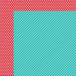 Bella Blvd - Color Chaos Collection - 12 x 12 Double Sided Paper - Gulf Strandz