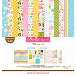 Bella Blvd - Simply Spring Collection - 12 x 12 Collection Kit