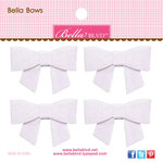 Bella Blvd - Color Chaos Collection - Bella Bows - Milk White