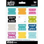 Bella Blvd - Illustrated Faith - 5 x 7 Stickers - Remember It