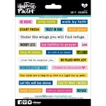 Bella Blvd - Illustrated Faith - 5 x 7 Stickers - Say It - Colorful