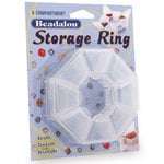 Beadalon - Jewelry - Bead Organizer - 8 Compartment Storage Ring