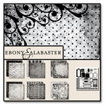 Black Market Paper Society - Ebony and Alabaster - Paper Collection Pack
