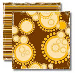 Black Market Paper Society - Imported Rhythm Collection - 12 x 12 Double Sided Paper - Didgeridoo
