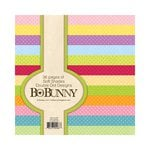 Bo Bunny - Double Dot Designs Collection - 6 x 6 Paper Pad - Soft Shades