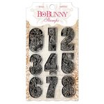 Bo Bunny - Clear Acrylic Stamps - Countdown