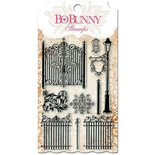 Bo Bunny - Essentials Collection - Clear Acrylic Stamp - Gateway