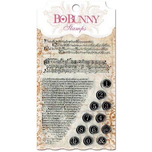 Bo Bunny - Essentials Collection - Clear Acrylic Stamp - It Is Written