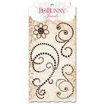 Bo Bunny - Essentials Collection - Bling - Jewels - Chocolate