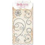 Bo Bunny - Essentials Collection - Bling - Jewels - Glaze