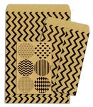 Bo Bunny - Kraft Collection - Gift Bags - Chevron