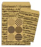 Bo Bunny - Kraft Collection - Gift Bags - Music Notes