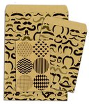 Bo Bunny - Kraft Collection - Gift Bags - Mustache