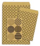 Bo Bunny - Kraft Collection - Gift Bags - Quatrefoil