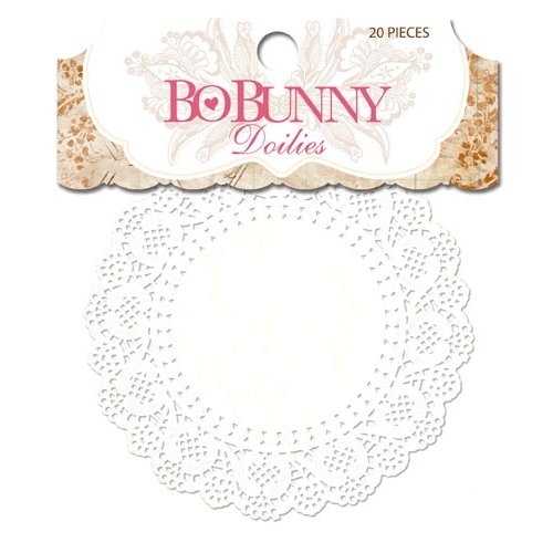 Bo Bunny - Essentials Collection - Small Doilies