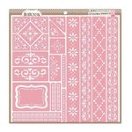 Bo Bunny - Stickable Stencils - Borders