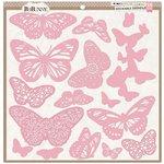 Bo Bunny - Stickable Stencils - Butterflies