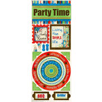 Bo Bunny Press - Block Party Collection - Cardstock Stickers - All About Family