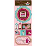 Bo Bunny Press - Sweet Tooth Collection - Cardstock Stickers - A Cherry On Top