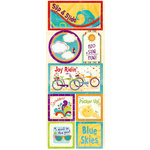 Bo Bunny Press - Sun Kissed Collection - Cardstock Stickers - H2O and Sun, CLEARANCE